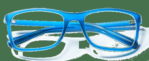 blue eye glasses