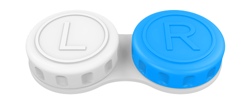 contact lens storage container