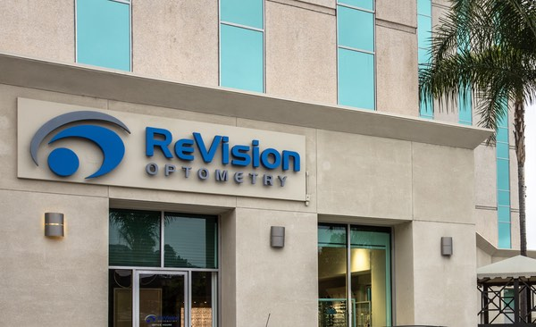 Directions to ReVision Optometry in Mission Valley.